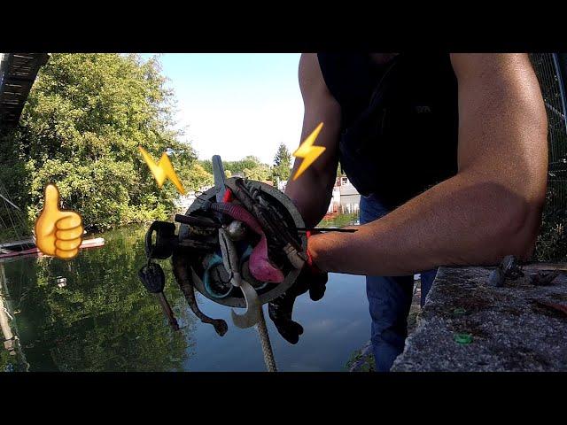Une pêche à laimant qui paye