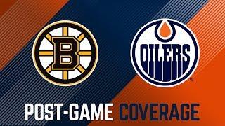 ARCHIVE | Post-Game – Oilers vs. Bruins