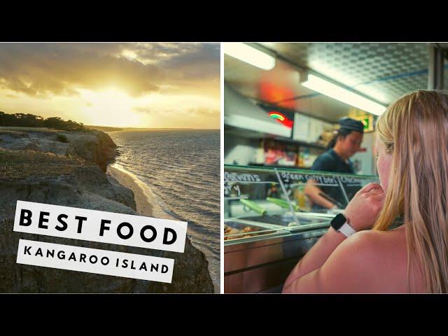 Kangaroo Island's BEST FOOD SPOTS | Kangaroo Island vlog #5