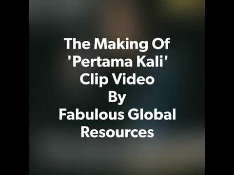 Di sebalik tabir klip video 'Pertama Kali' Salimey vol 1