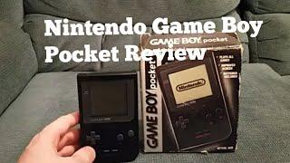RetroGamer:Gameboy pocket unboxing and review.