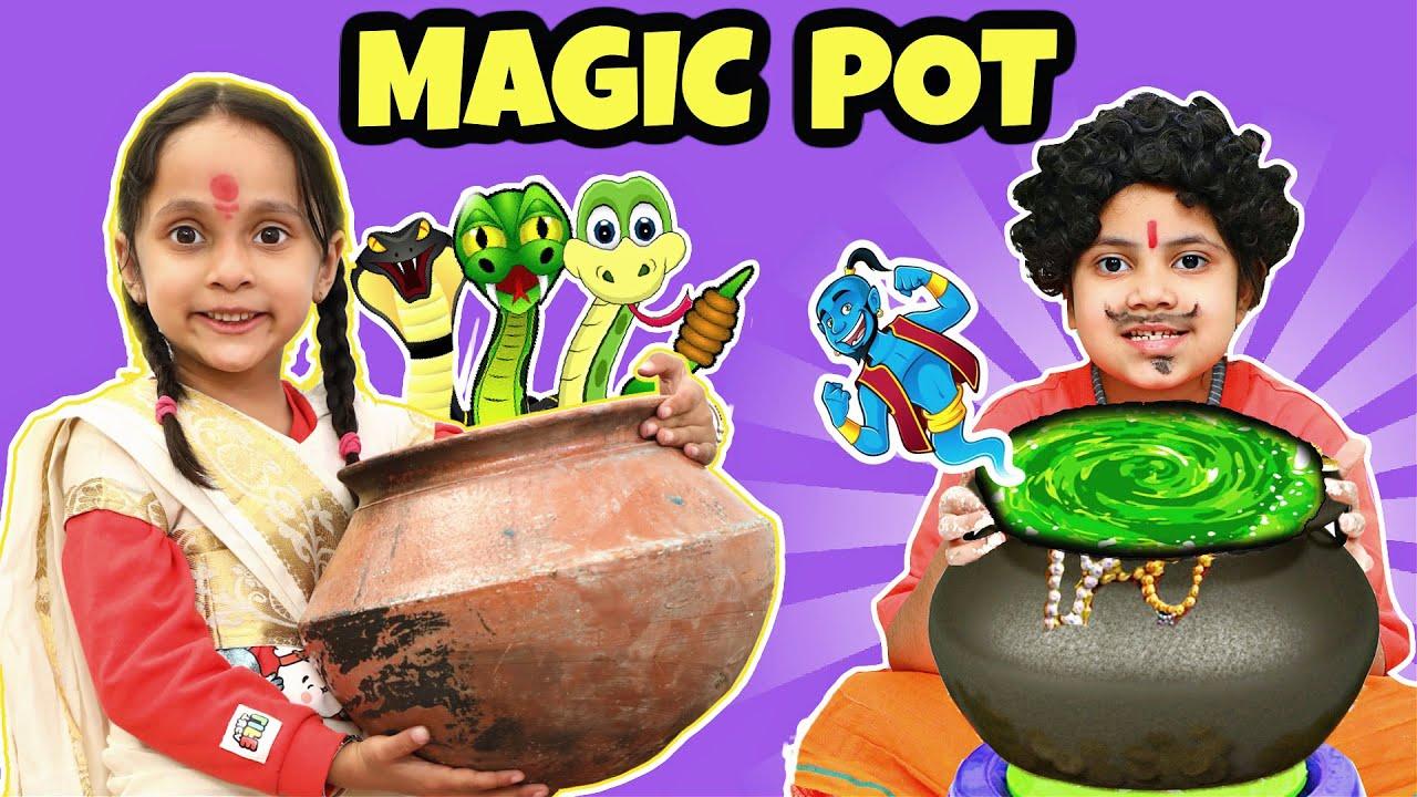 Magic Pot - जादुई घड़ा   Jadui Ghada Story in Hindi   ToyStars