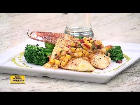 Bay Harbor Hotel Executive Chef Joe Garcia showcase a healthy snapper cuisine
