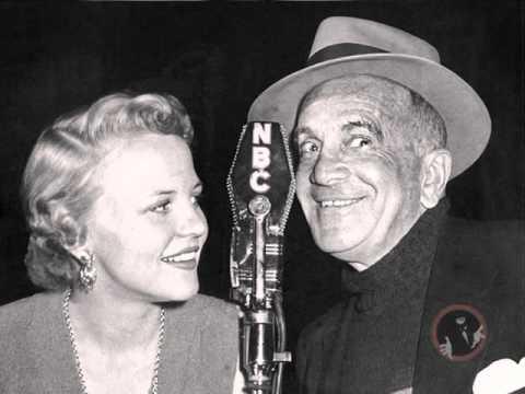 Al Jolson &  Peggy Lee on Kraft Music Hall February 10, 1949 - video podcast