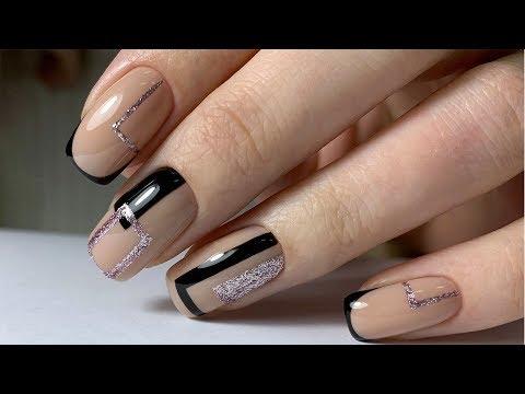 Геометрия френч на ногтях