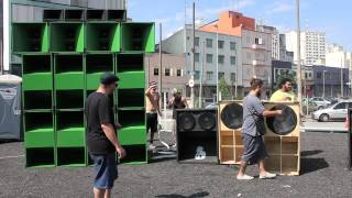 BlackStar Inity - Virada Cultural 2012 - Making Of - SoundSystem RASFilms