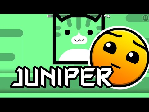 Geometry Dash Juniper 100% by AshDasher