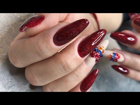 Коррекция ногтей КРЕМ - ГЕЛЕМ от Patrisa Nail дизайн ногтей флаг Армении 🇦🇲