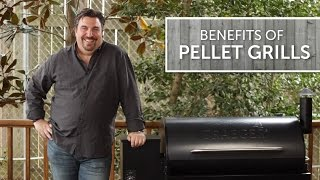 Advantages of Pellet Grills  Smokers  Easiest Way to Smoke Bake BBQ  Grill With Wood Fire