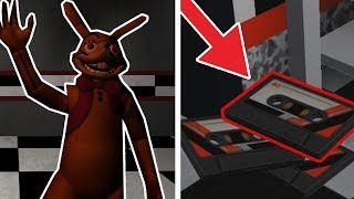 Finding ALL of The FNAF Help Wanted Tapes in Roblox Animatronics Universe