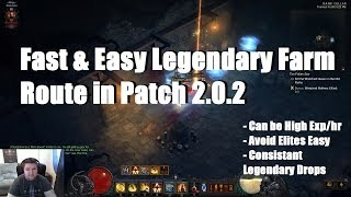 Fast & Easy Legendary Farm Route | Patch 2.0.2 in Diablo 3
