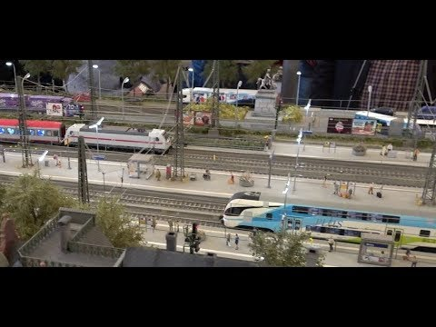 Model Railroad Exhibition H0 DB Bonn Hauptbahnhof and others