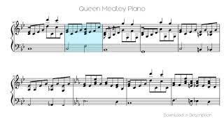 Queen Medley Piano
