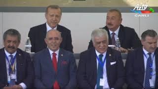 Bakının azad edilməsinin 100-cü ildönümü münasibətilə hərbi parad keçirilib