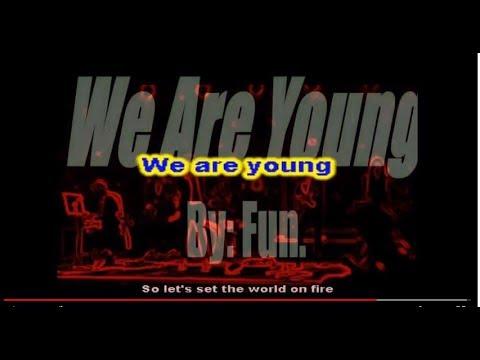 WE ARE YOUNG - FUN Karaoke-style Same-Language-Subtitling