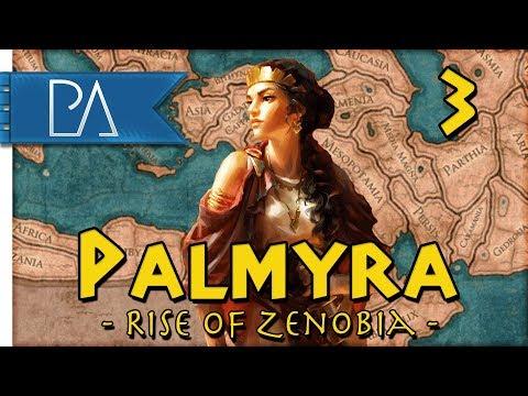 CIVIL WAR IN PALMYRA - Empire Divided DLC - Total War: Rome 2 - Palmyra Campaign #3