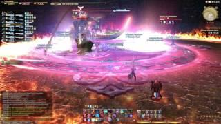 FFXIV Stormblood Red Mage limit break 3 Vermillion Scourge
