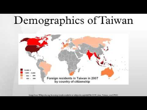 Demographics of Taiwan