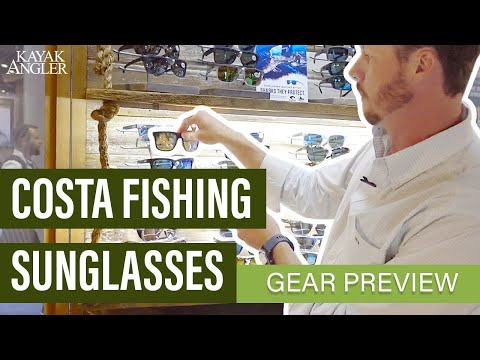Costa Fishing Sunglasses | Costa's Broadbill And Tico Sunglasses | Gear Preview