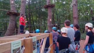 Forêt Adrenaline - Rennes - 29 juli 2016