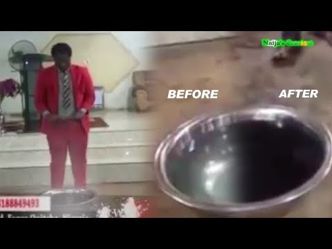 Download Prophet Turns WATER To RED WINE As Congregation Get Drunk
