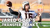 NFL QB Jared Goff Pranks Unsuspecting College Football Team