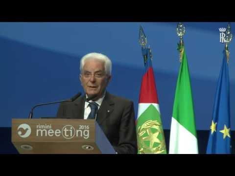 Discorso Presidente Mattarella al Meeting di Rimini