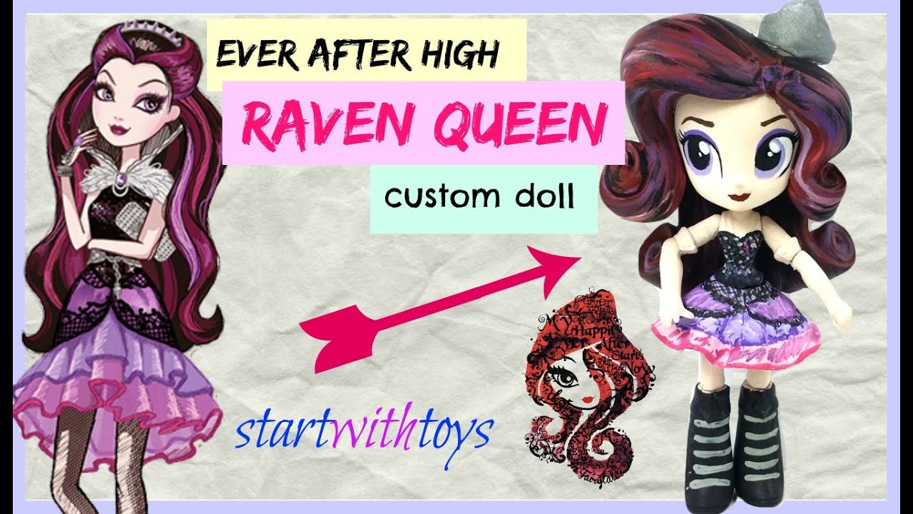 EAH Raven Queen Custom My Littly Pony Equestria Girls Mini ...