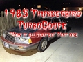 The Making of the Boosted Bird - 1986 Thunderbird Turbo Coupe Drift Car: Part 1