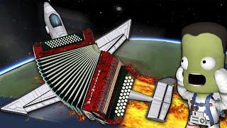 САМОЛЕТ - ГАРМОШКА | Kerbal Space Program (KSP)