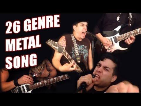 Alphabetical 26 Genre Metal Song