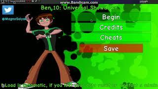 WOA this it the Ben 10: Universal Showdown in roblox
