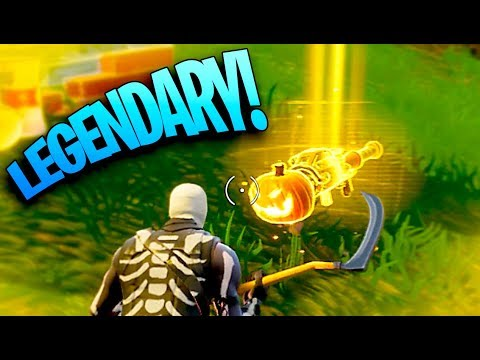 I FOUND IT! LEGENDARY PUMPKIN LAUNCHER! ~ Fortnite Battle Royale