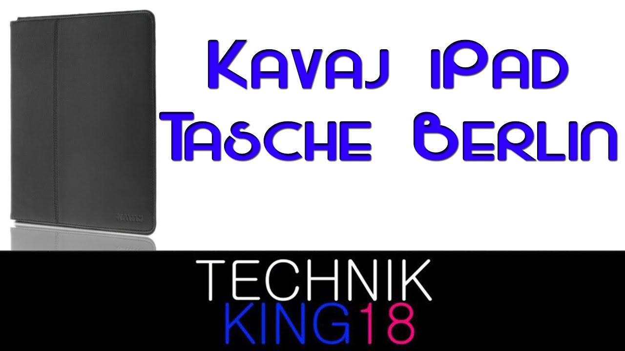 c9d94a29ff1c7 Kavaj IPad Tasche Berlin - YouTube