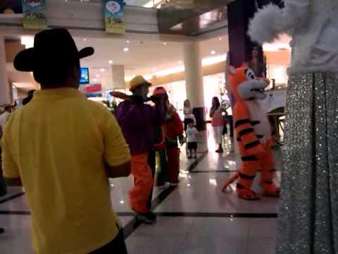 Funny circus in arabian centre dubai