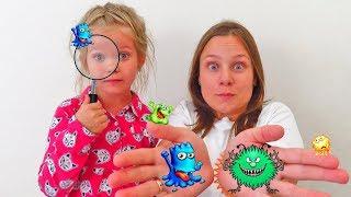 Лера и поучительная история про микробы и бактерии