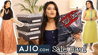 *BEST* Ajio Haul Ever 😍  Starting 319 Rs. Only   Upto 80% Off    Super Style Tips