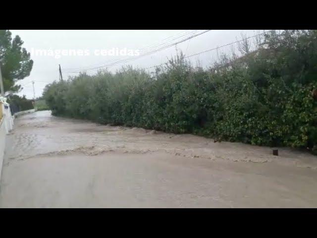 VÍDEO: Las lluvias provocan problemas en la zona de La Torca y Puente Vadillo