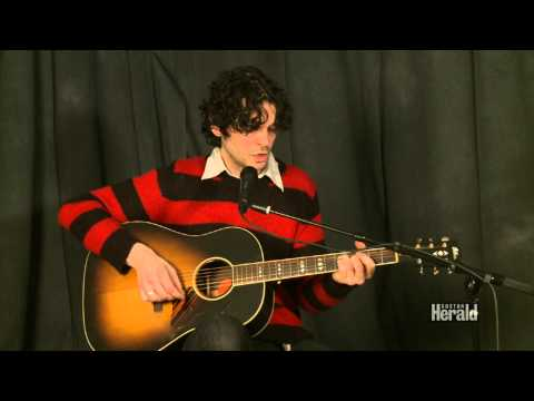"Will Dailey performs  ""Rescue"" at Boston Herald Studio"
