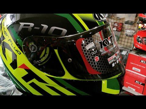 Beli Helm Baru KYT R10 Flat Visor