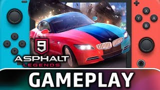 Asphalt 9: Legends | 10 Minutes of Gameplay on Switch