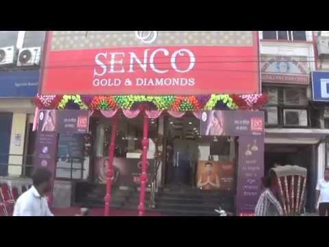 "Senco gold & diamonds showroom opening holo agt. ""NEWS VANGUARD AGARTALA Telecast news 22/1/2017"