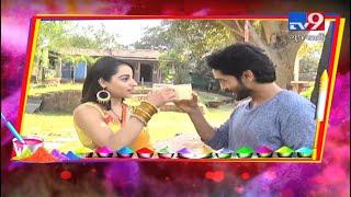 39;Nazar39; fame Niyati and Harsh celebrating Holi by making special 39;Thandai39; Tv9