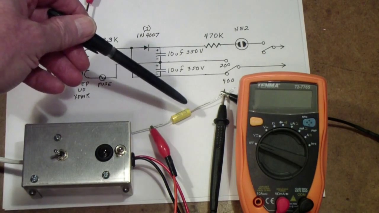 TTT135 DIY Capacitor Tester