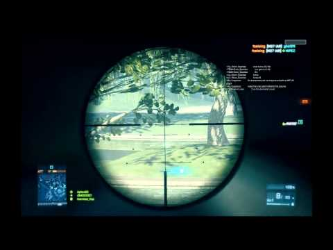 Battlefield 3 Beta - Sniper Gameplay SV 98