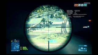 Battlefield 3 Beta - Sniper Gameplay SV 98