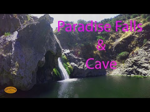 Hiking Paradise Falls w/ Waterfall and Cave -Thousand Oaks- CA 4K BTP