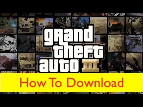 GTA 3 Game And Cheat Keyboard Free Download And Installation