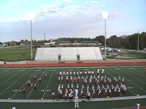 Constantine High School Band 2010 at East Kentwood