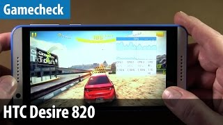 HTC Desire 820 im Gamecheck | deutsch / german
